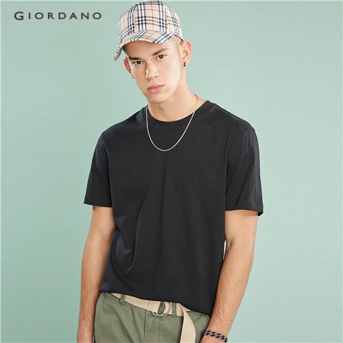 Áo thun nam cổ tròn Giordano