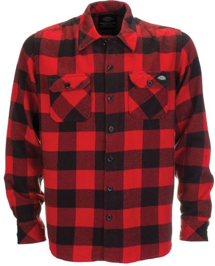 Sơ mi flannel hữu cơ cotton