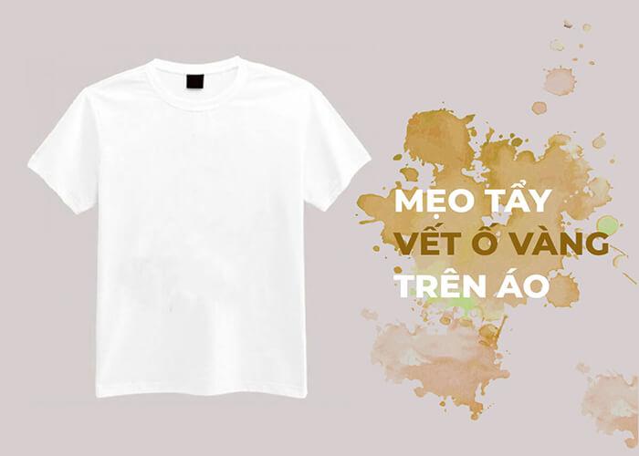 Top 9 cách tẩy sạch vết ố vàng trên áo trắng dễ dàng